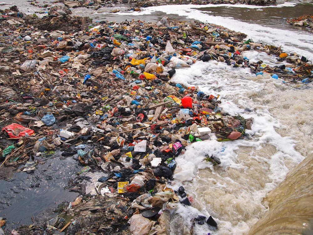 Imágenes de la contaminación