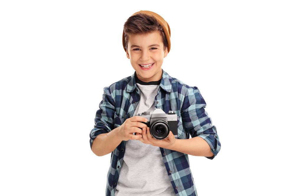 La fotografía y ropa elegante, una fórmula ideal para los más pequeños
